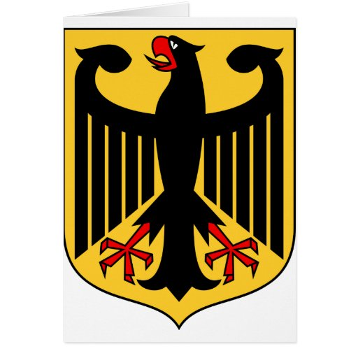 Germany Coat of Arms Greeting Cards