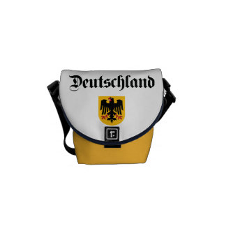 Germany + Coat of Arms Courier Bags