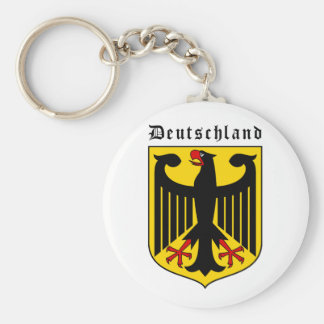 Germany Coat of arms Basic Round Button Keychain