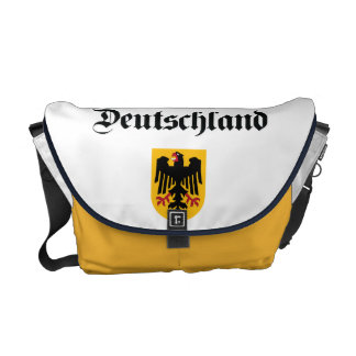 Germany + Coat of Arms Messenger Bag