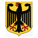 Germany Coat of Arms Personalized Letterhead