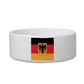 Germany Coat of Arms Cat Water Bowl