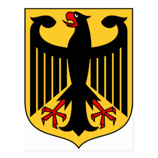 Germany Coat of Arms Postcard