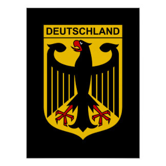 Germany Coat of Arms Poster
