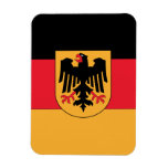 Germany Coat of Arms Rectangular Photo Magnet