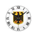 Germany Coat of Arms Round Wallclocks
