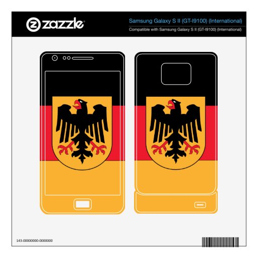Germany Coat of Arms Samsung Galaxy S II Decal