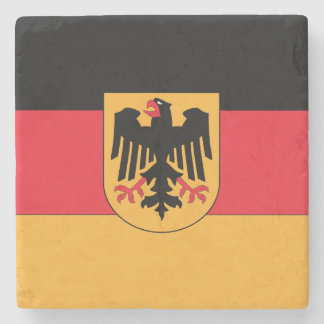 Germany Coat of Arms Stone Coaster