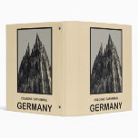 Germany Cologne Cathedral 3 Ring Binder