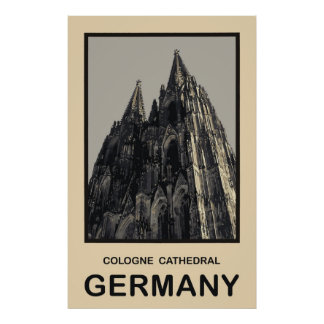 Germany Cologne Cathedral Poster