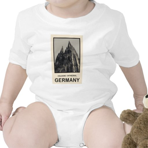 Germany Cologne Cathedral T Shirt