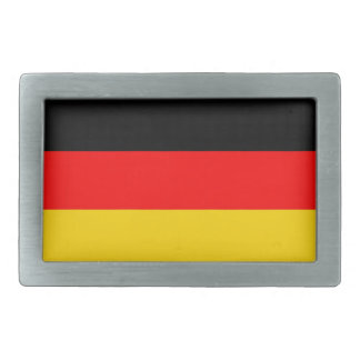germany country flag rectangular belt buckle