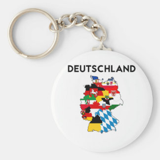 germany country political flag map region province keychain