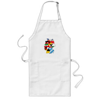 germany country political flag map region province long apron