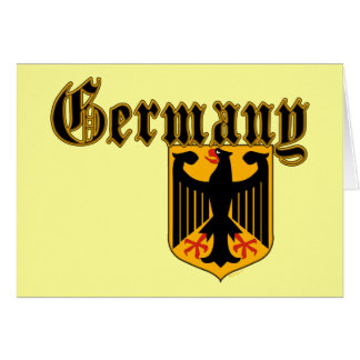 Germany Crest Card