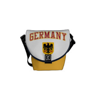 Germany + Crest Messenger Bags