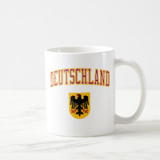 Germany + Crest Coffee Mugs