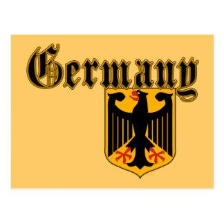 Germany Crest Postcard