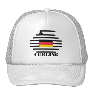 Germany Curling Trucker Hat