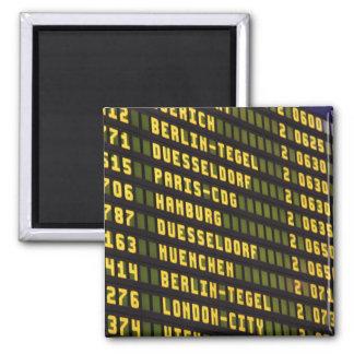 Germany Departure Board Magnet