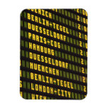Germany Departure Board Magnets