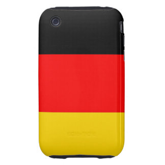 germany deutch country flag case iPhone 3 tough cover