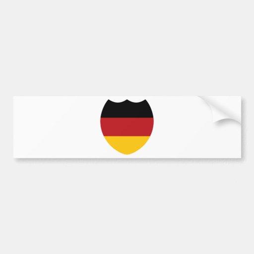 Germany / Deutchland Bumper Sticker
