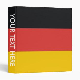 Germany Deutschland flag 3 Ring Binder