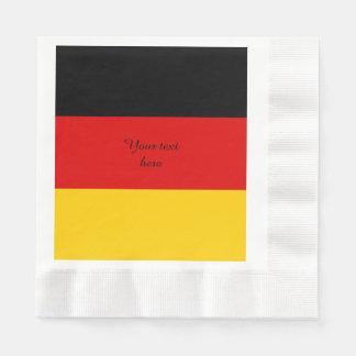 Germany Deutschland flag Paper Napkin
