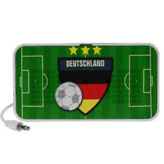 Germany Deutschland Soccer Flag Football Portable Speaker
