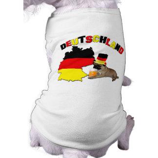 Germany - Dog T-Shirt / Ribbed Tank Top