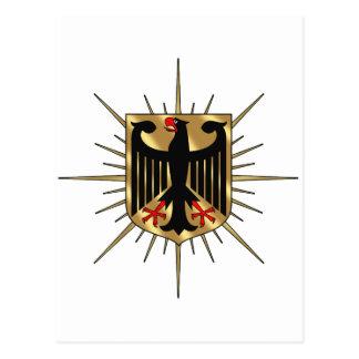 Germany Eagle badge Germany Soccer Gifts Postcard