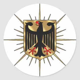 Germany Eagle badge Germany Soccer Gifts Round Stickers
