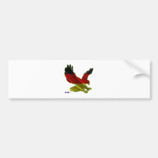 GERMANY EAGLE CUSTOMIZABLE PRODUCTS CAR BUMPER STICKER