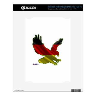 GERMANY EAGLE CUSTOMIZABLE PRODUCTS DECALS FOR THE NOOK