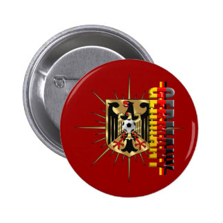 Germany Eagle love Fussball Deutschland 2010 Pinback Buttons