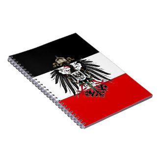 Germany Eagle Vintage Spiral Note Book