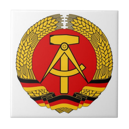 Germany- East Germany Ceramic Tile