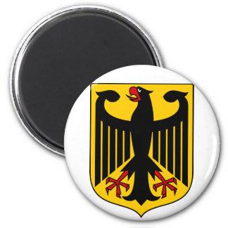 germany emblem 2 inch round magnet