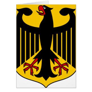 germany emblem card