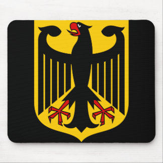 germany emblem mouse pad