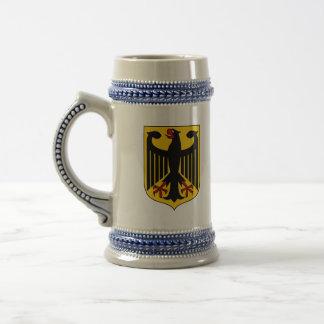 germany emblem 18 oz beer stein