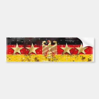 Germany Flag Adler Eagle Deutschland Fußball 2014 Bumper Sticker