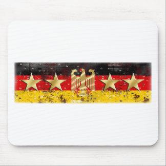 Germany Flag Adler Eagle Deutschland Fußball 2014 Mouse Pad