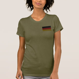 Germany Flag and Map dk T-Shirt