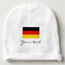 Germany flag baby beanie hat for German boy / girl