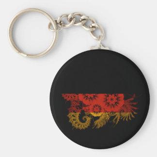 Germany Flag Basic Round Button Keychain
