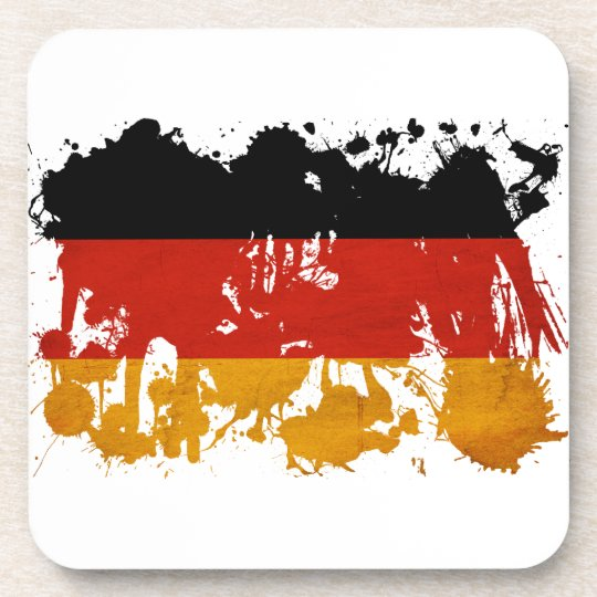 Germany Flag Beverage Coaster