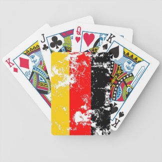 Germany Flag Bicycle Playing Cards