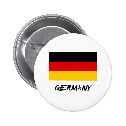 Germany Flag Pinback Button
